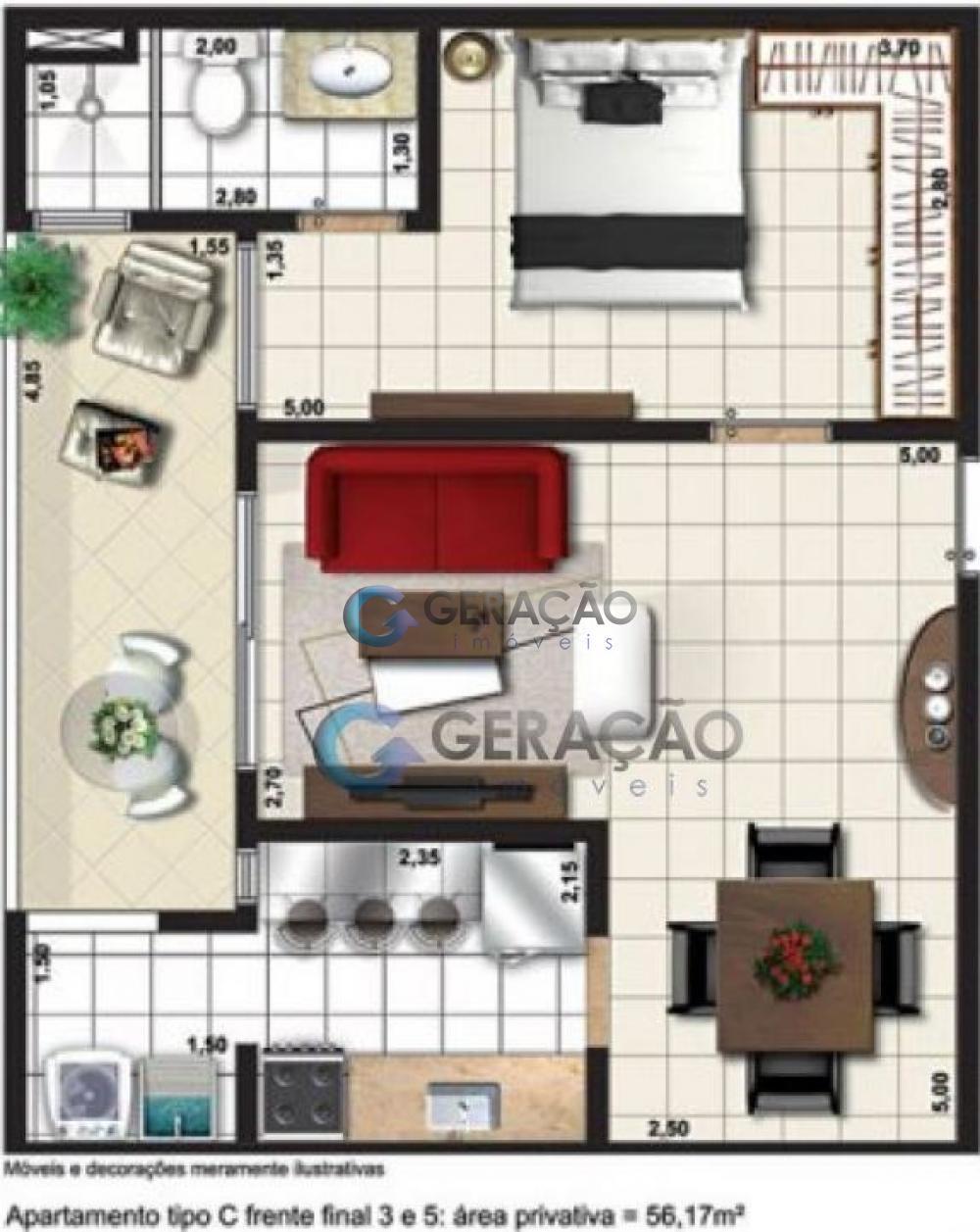 Comprar Apartamento / Padrão em São José dos Campos R$ 373.000,00 - Foto 28