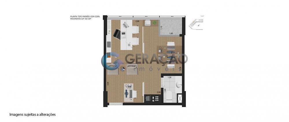 Alugar Comercial / Sala em Condomínio em São José dos Campos R$ 1.000,00 - Foto 40