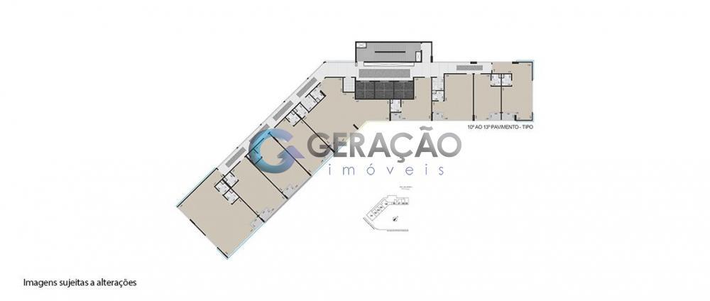Alugar Comercial / Sala em Condomínio em São José dos Campos R$ 1.000,00 - Foto 42