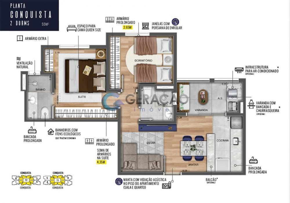 Comprar Apartamento / Padrão em São José dos Campos R$ 400.000,00 - Foto 18