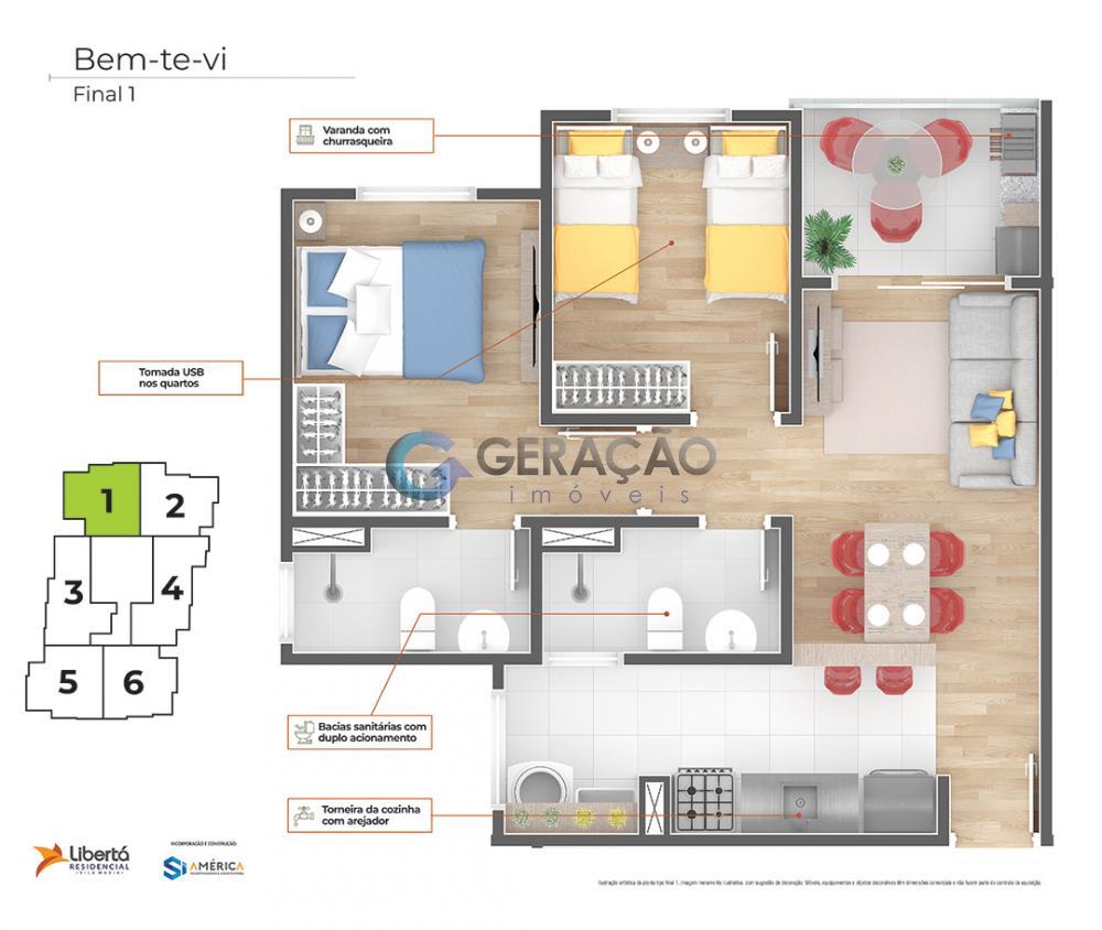 Comprar Apartamento / Padrão em São José dos Campos R$ 218.000,00 - Foto 40