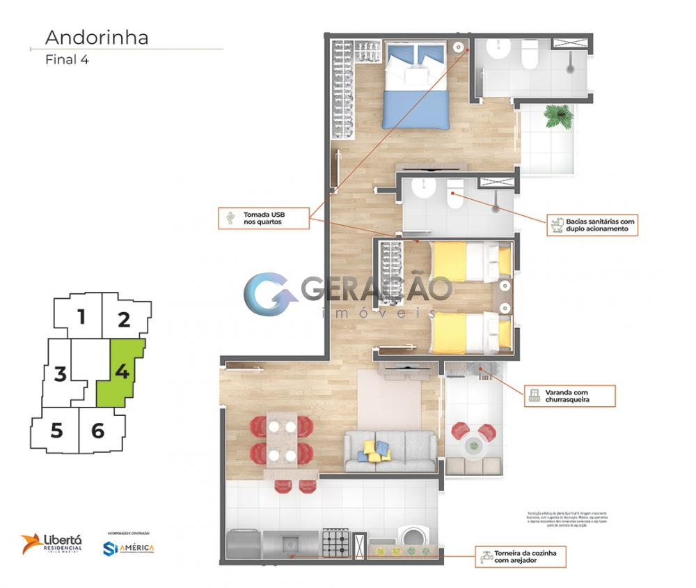 Comprar Apartamento / Padrão em São José dos Campos R$ 218.000,00 - Foto 43