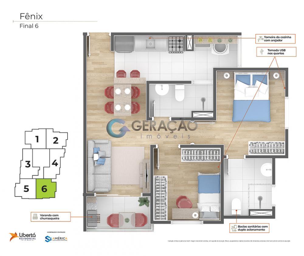 Comprar Apartamento / Padrão em São José dos Campos R$ 218.000,00 - Foto 45
